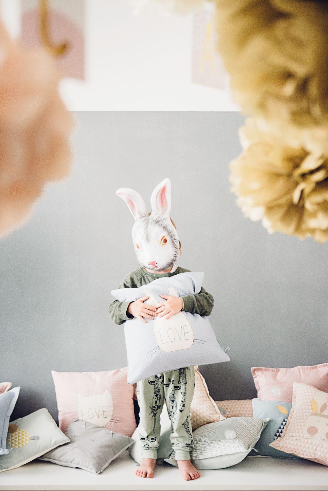 kissen deluxe bunny love lilli marleen handmade with love. Black Bedroom Furniture Sets. Home Design Ideas