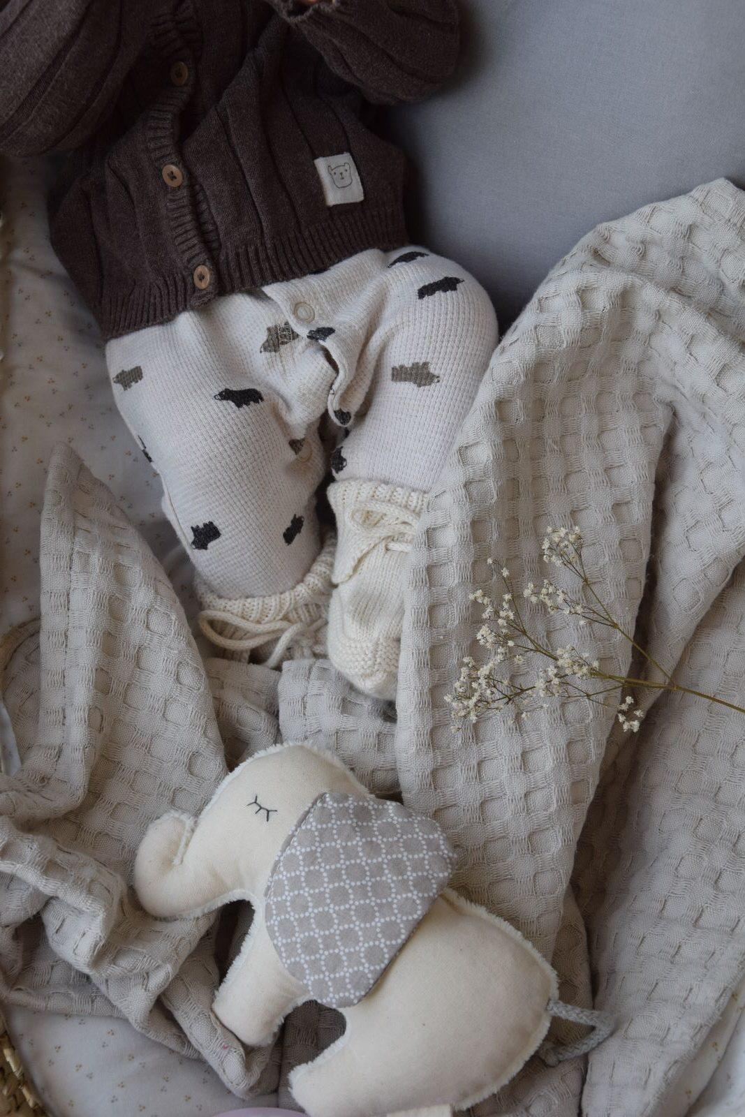 Babydecke beige