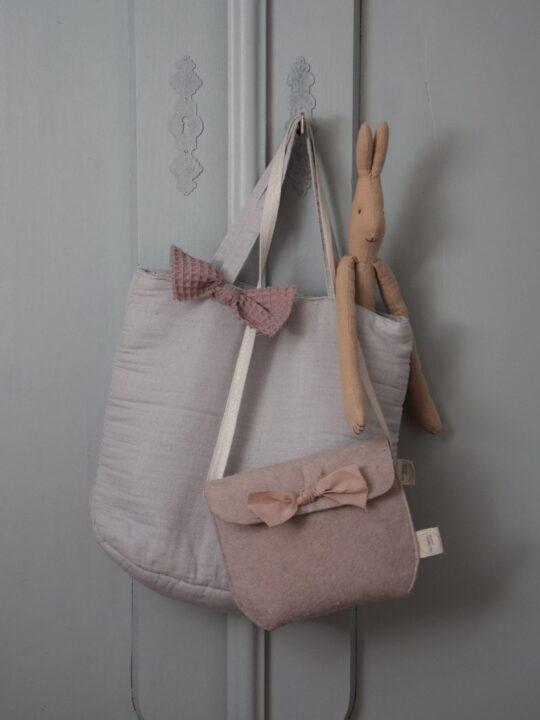 Stofftaschen mit Schleife
